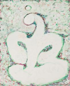marie raymond - painting la reveuse 1984