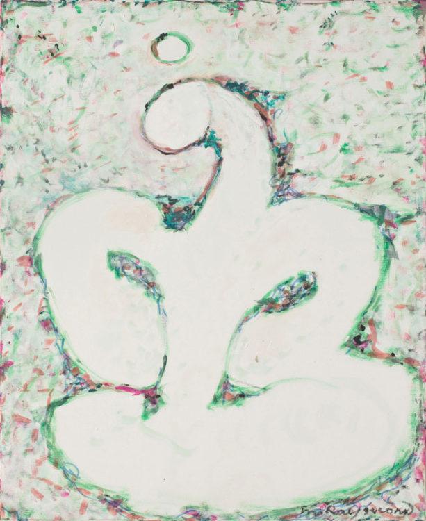 marie raymond - peinture la reveuse 1984