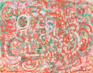 marie raymond - peinture sans titre 1974
