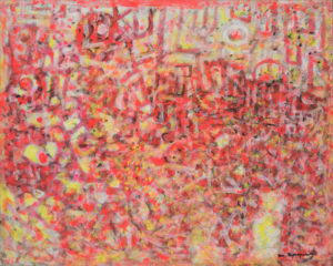 marie raymond - peinture sans titre 1986
