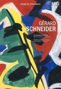 couverture catalogue - exposition gerard schneider la naissance du geste 2020