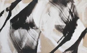 roswitha doerig - gestes blancs noirs acrylic 2008
