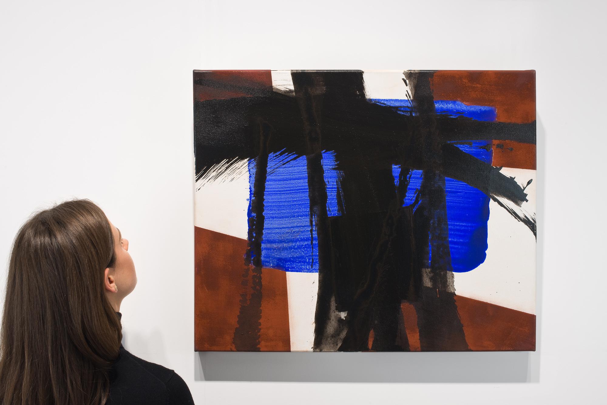 roswitha doerig - untitled painting 2012 acrylic