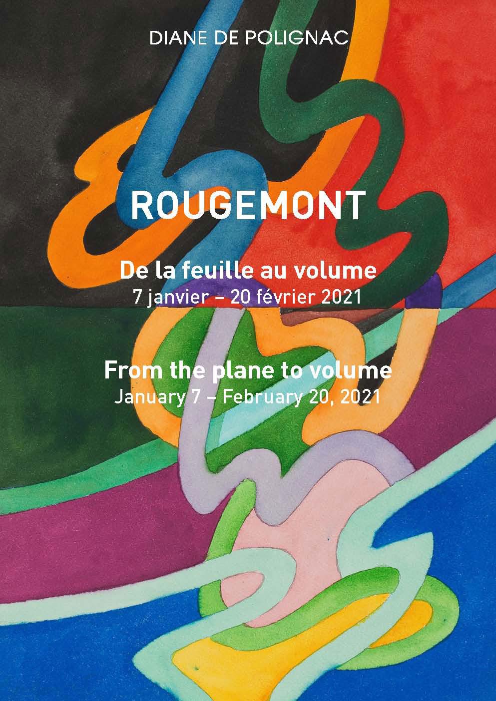 cover - catalog guy de rougemont exhibition 2021