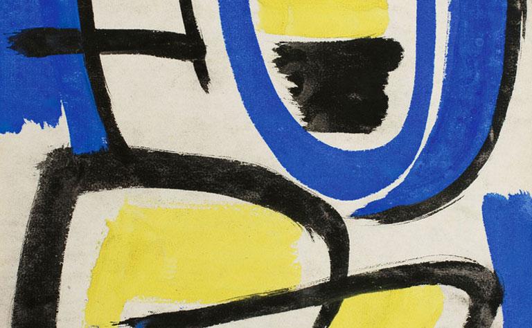 gerard schneider - vignette exposition galerie diane de polignac