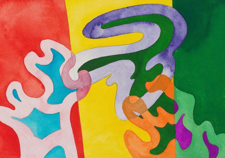 guy de rougemont - exhibition watercolors 2021 home