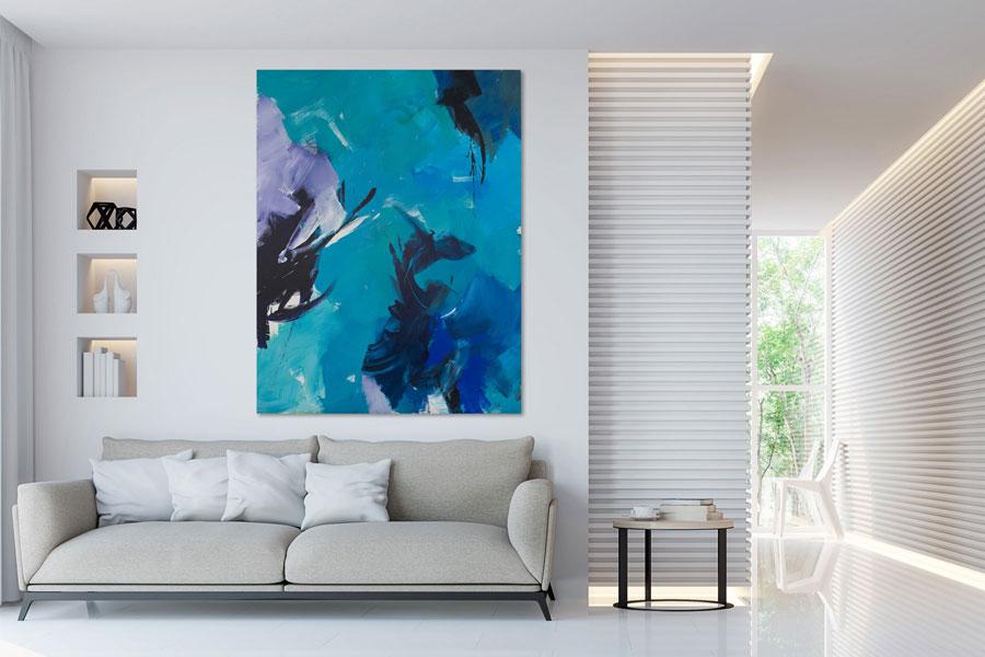 jean miotte - simulation hanging diane de polignac gallery