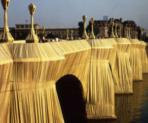 christo - wrapped pont neuf 1985