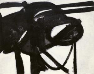 franz kline - chief 1950 painting