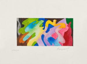 guy de rougemont - aquarelle 13 27 papier 2000