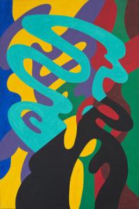 guy de rougemont - aquarelle sur papier sans titre 2006