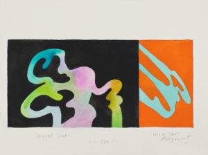 guy de rougemont - feuille aquarelle papier 2000