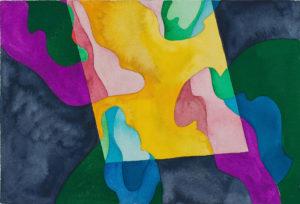 guy de rougemont - hommage a pontormo watercolour c 2000