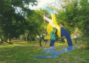 guy de rougemont - ombre chinoise 2003 sculpture