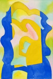 guy de rougemont - sans titre 2000 ca aquarelle sur papier