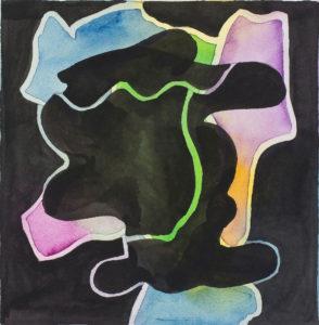 guy de rougemont - sans titre 2001 aquarelle sur papier