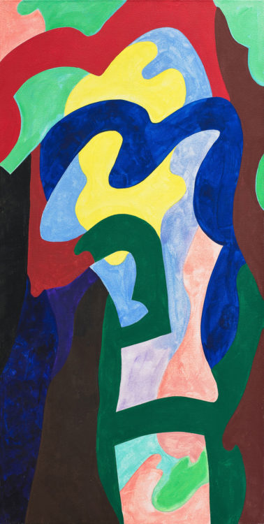 guy de rougemont - sans titre 2004 acrylique