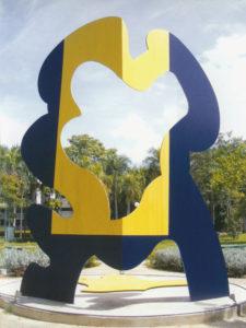guy de rougemont - serpentinata caraaibe 2004 sculpture