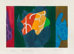 guy de rougemont - sofora pleureur aquarelle 2000