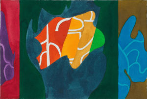 guy de rougemont - sophora pleureur painting c 2000