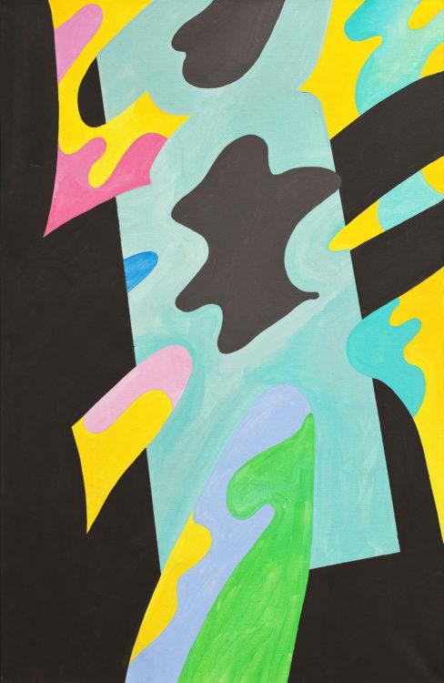 guy de rougemont - untitled 2006 acrylic