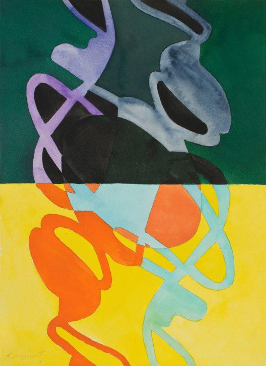 guy de rougemont - watercolour paper untitled 2000