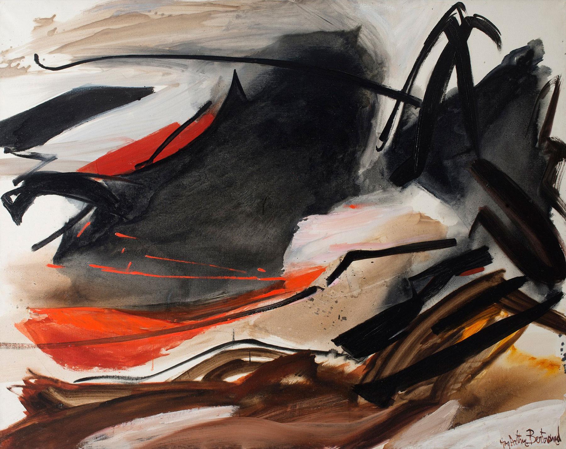 huguette arthur bertrand - cela qui gronde 1967 newsletter l art vient a vous 16