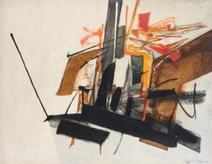 huguette arthur bertrand - comarave 1961 peinture