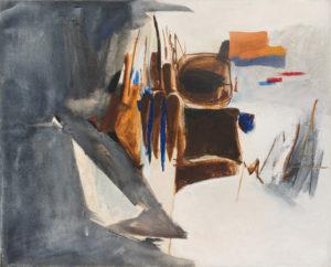 huguette arthur bertrand - pampelune 1962 peinture