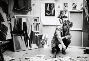 huguette arthur bertrand - portrait 1954 newsletter l art vient a vous 16