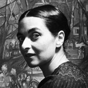 maria helena vieira da silva - artist painter portrait