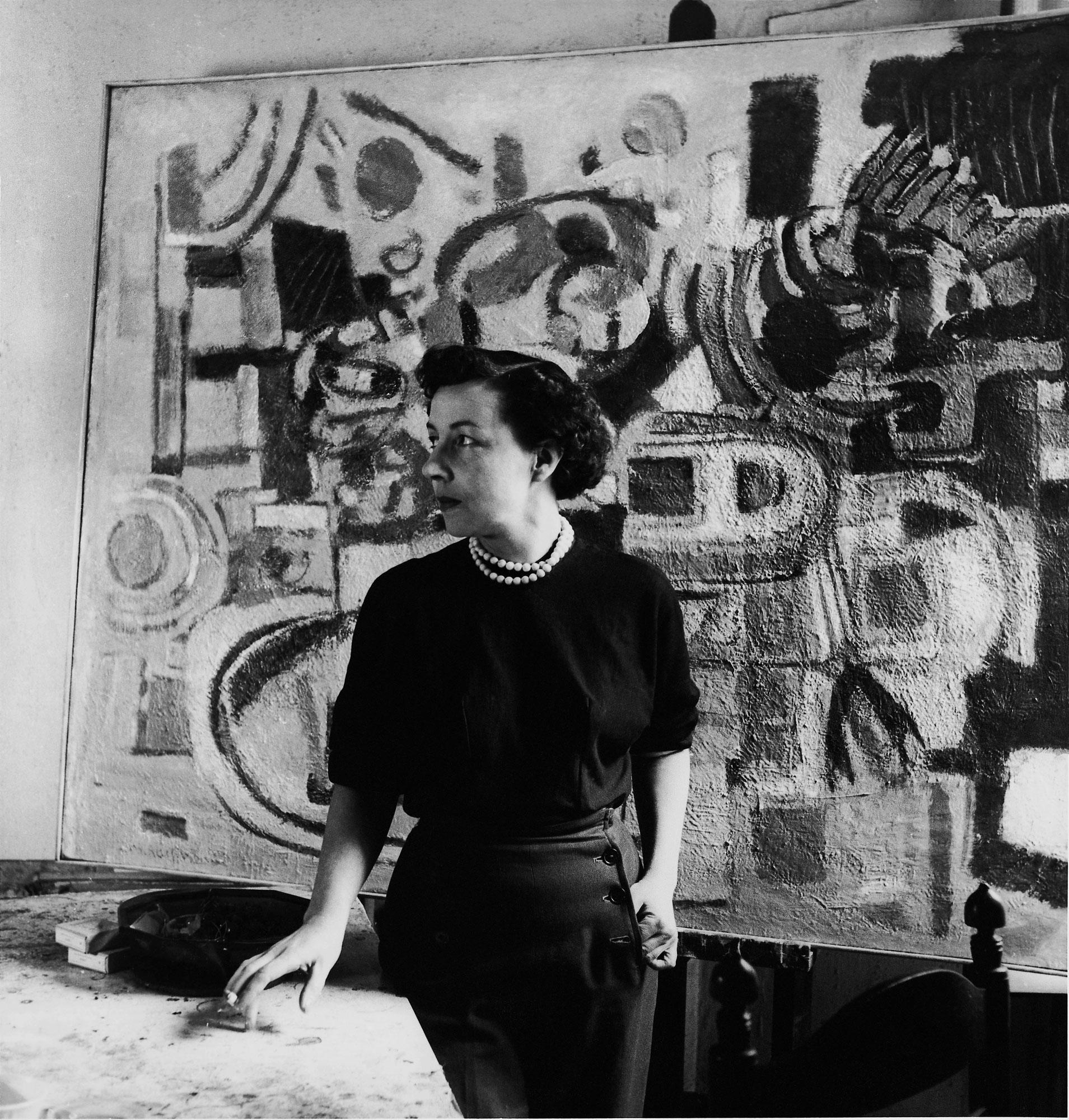 marie raymond - atelier portrait paris 1950