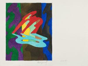 papier aquarelle - guy de rougemont 2000 23 31 peinture