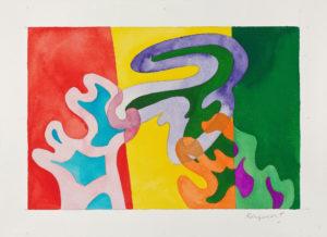 papier - aquarelle guy de rougemont 2000