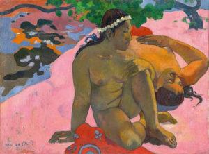 paul gauguin - paiting aha oe feii 1982