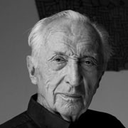 pierre soulages - artist painter portrait
