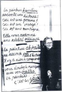roswitha doerig - painter portrait 1990