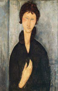amedeo modigliani - la femme aux yeux bleus c 1918 newsletter art vient a vient vous 8