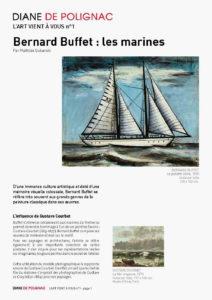 bernard buffet - la goelette gloria newsletter l art vient a vous 1