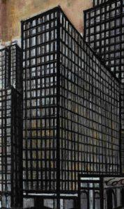 bernard buffet -new york daily news building 1990 detail 2 newsletter art comes to you 6