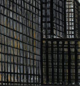 bernard buffet -new york daily news building 1990 detail newsletter art comes to you 6