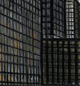 bernard buffet -new york daily news building 1990 detail newsletter art comes to you 6