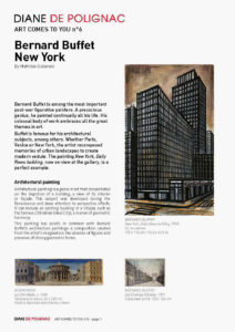 bernard buffet - new york newsletter art comes to you 6