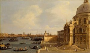 canaletto - venise santa maria della salute 1740 newsletter art comes to you 6