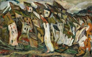 chaim soutine - les maisons 1920 1921 newsletter art comes to you 4