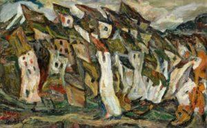 chaim soutine - les maisons 1920 1921 newsletter art vient a vous 4