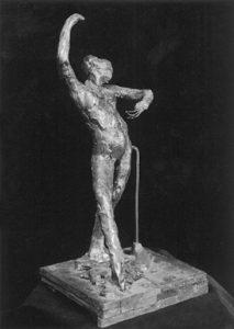 edgard dega - etude danse espagnole 1834 1917 statue newsletter art comes to you 9