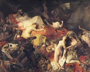 eugene delacroix - la mort de sardanapale 1827