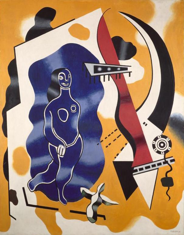 fernand leger - la danseuse bleue 1930 newsletter art comes to you 9