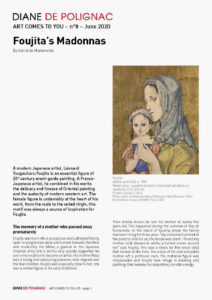 foujita - madonnas art newsletter comes to you 8